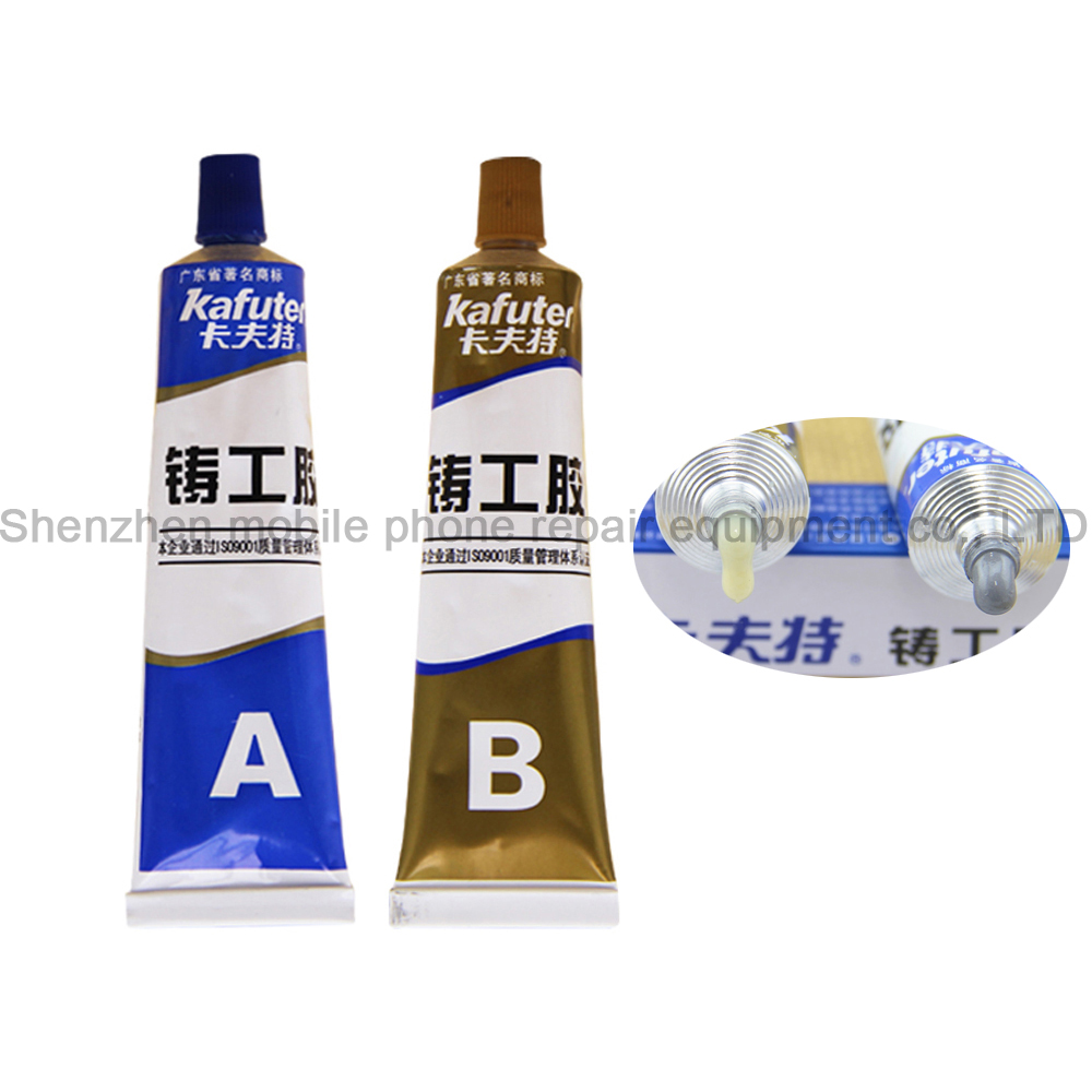 High Temperature 100g AB Glue Metal Repair Glue Cast Iron Steel Strength Repairing Adhesive Waterproof Transparent Quick Drying