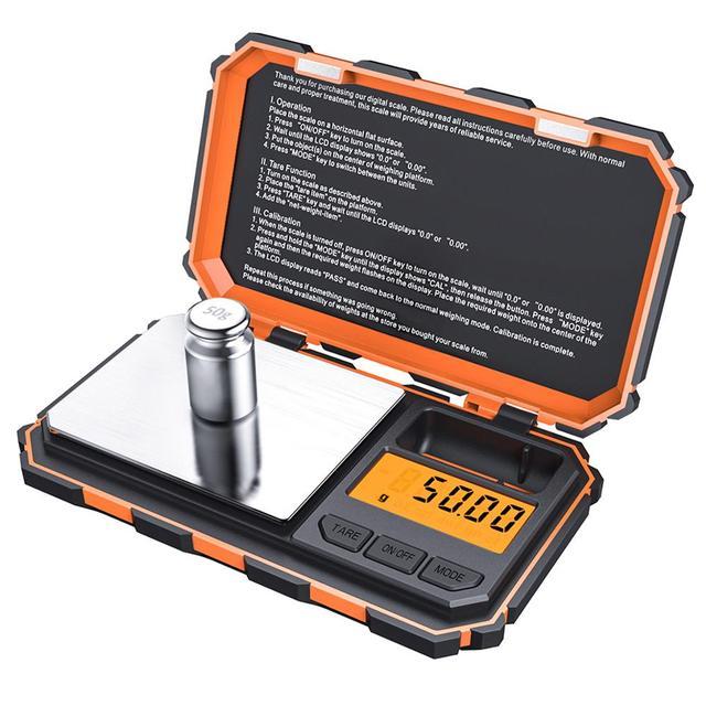 Digital Pocket Küche Skala LED 200g/0,01g Mini Tragbare Elektronische Waagen Essen Mess Küche Lebensmittel Skala Gewicht werkzeug