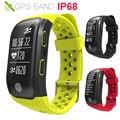 Смарт-часы IP68 GPS для мужчин/женщин  Смарт-часы для бега/плавания  GPS  скорость  умные часы  подходят для Apple/Xiaomi/Huawei VS IWO 10