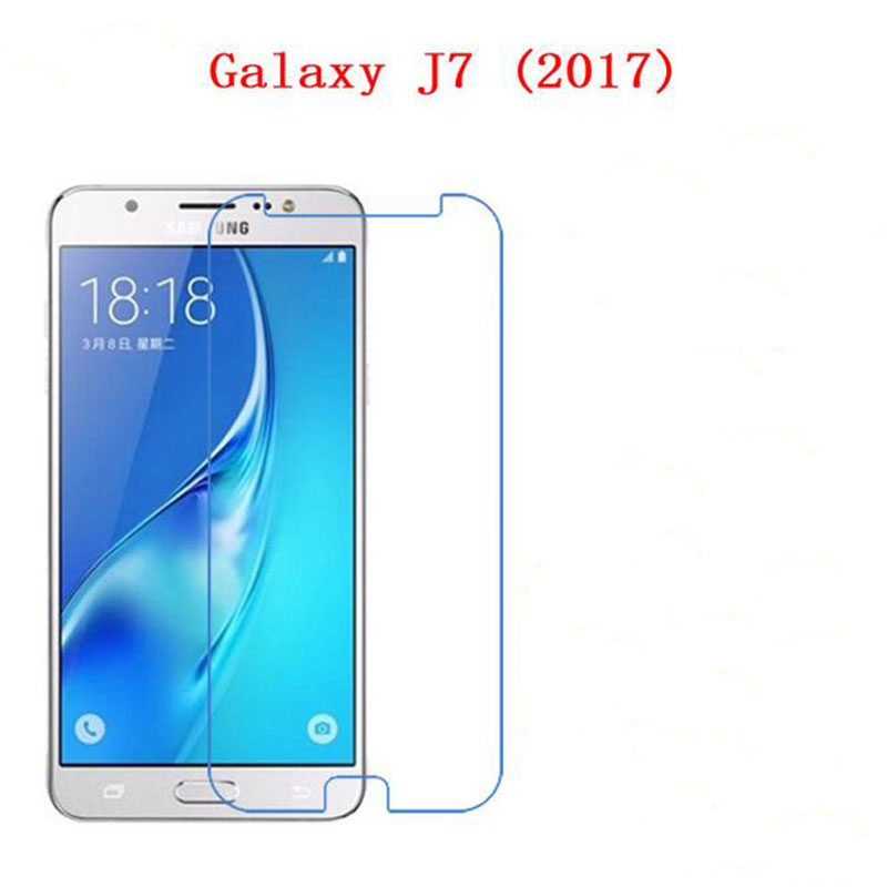 Wholesale Tempered Glass font b phone b font screen protector for Samsung Galaxy J7 2017 J720