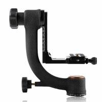 Qingzhuangshidai Q45S professional Panoramic 360 Degree Vertical Pro Gimbal Tripod Head 1/4 Screw for Camera