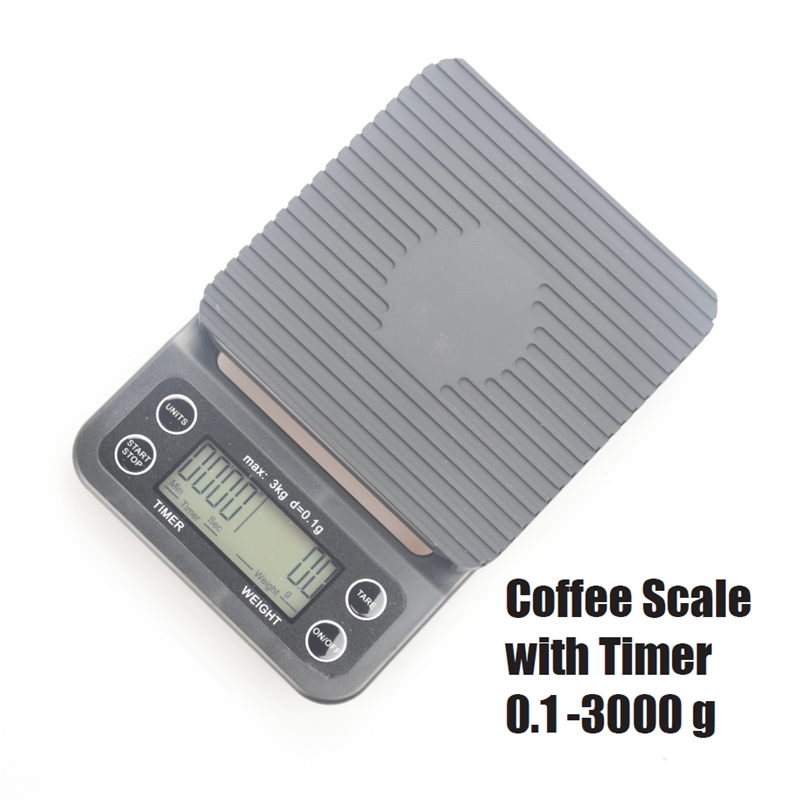 Freeshipping V60 Coffee Digital Scale Kitchen Household Weigh Promotion Rushed Direct Selling Limited 0.1g With Timer