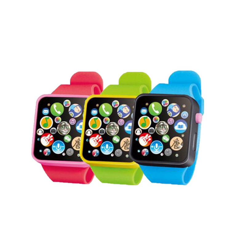 Hot Selling Creative Kids Educational Smart Toy Wrist Watch Music Teaching Baby Birthday Gifts
