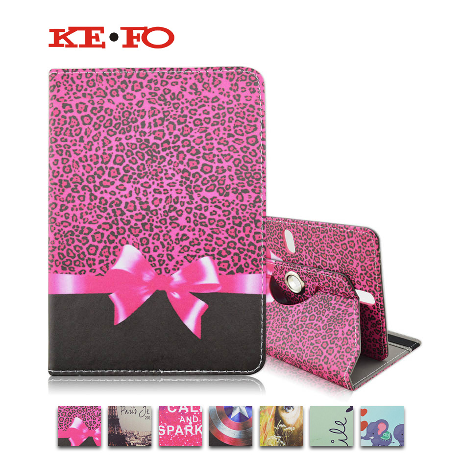 360 Rotating Universal 7 inch Tablet PU Leather case For Aoson M721/ M725G /M787T 7.0 inch Tablet CoverS4A92D
