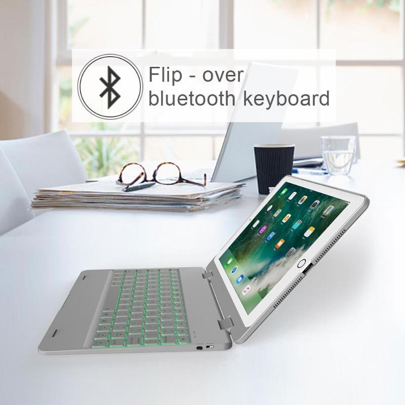 F181 étui folio élégant pour clavier Bluetooth pour iPad Pro/iPad Air 2