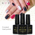 KCE Brand 1pcs Nail Polish Matte Finish Nail Polish Matte Finish Durable Soak Transparent  Nail Polish