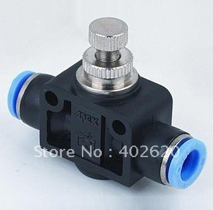 PA8  8mm speed controls ; Pneumatic fittings, plastic fittings, push in fittings