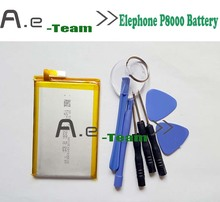 High quality 100 new For Elephone P8000 Battery New 4165mAh Li ion Battery For elephone p8000