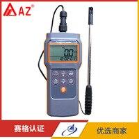 AZ8905 цифровой анемометр цена с комбинированным потоком, TEMP. & RH % Анемометр Датчик ветра, ручной анемометр Измерение скорости ветра