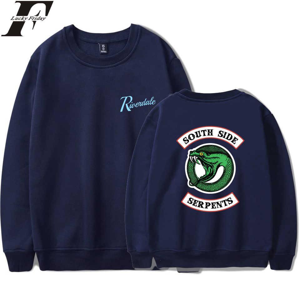 Fashion Riverdale Sweatshirt Hoodies Women/Men Spring Coat south side serpents Tracksuit Women Oversize Sweatshirt Clothes
