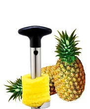 Useful Fruit Pineapple Peeler Corer Slicers Cutter Kitchen Tools Kits Easy Pineapple Peeling Knife Fruit Salad Home Accessories