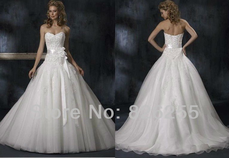 Ivory Ball Gown Wedding Dress: Promotion In Stock Free Shipping Cheap White/Ivory Ball