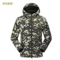 2019 New Winter Men's SoftShell Fleece Jackets Coats Fashion Casual High Quality Hoodies Windproof Mens Jackets S XXL
