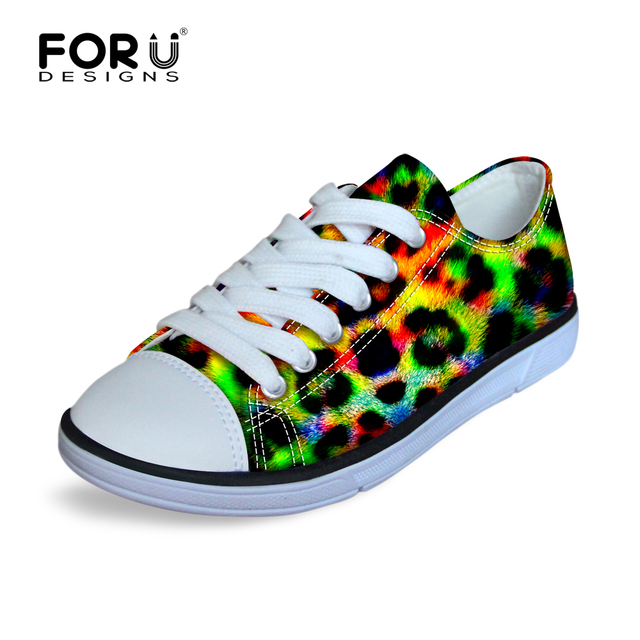 FORUDESIGNS Camouflage Leopard PrintingSports Shoes Kid Resistance Rubber Sole Kids Walking Shoe Spring Autumn Child Boys Girls