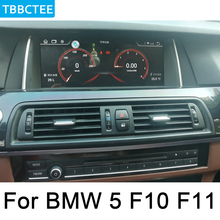 For BMW 5 F10 F11 2013~2016 NBT Android IPS car player original Style Autoradio gps navigation Bluetooth screen  2GB+16GB