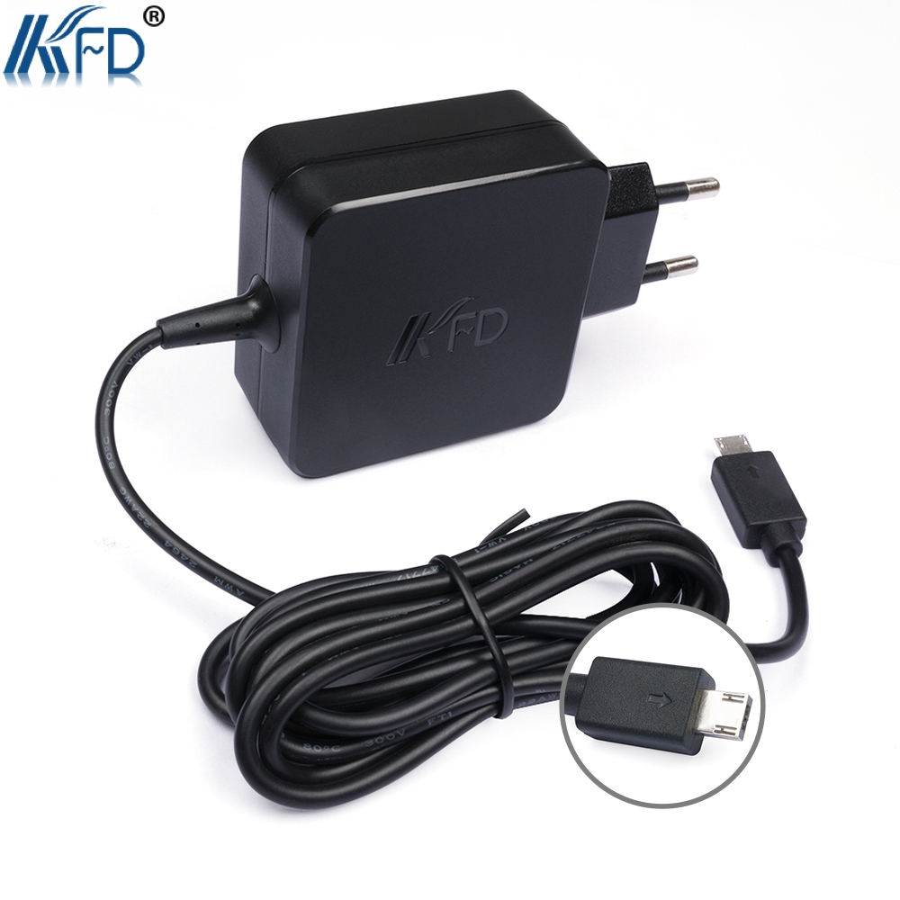 2018 New hot 1 PCS KFD 19V 1.75A AC Charger Adapter Laptop Power Plug for Asus X205T / X205TA SCA AS19175-808 E200 E200H E200HA