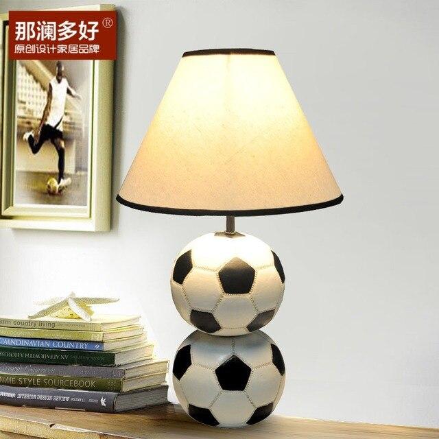 Lan Viele Gute Ideen Die Europischen Stil Garten Wohnzimmer Schlafzimmer Kinder Fussball Lampe Studie