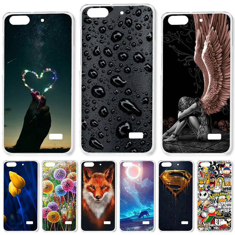 DIY Hard Printing Case For Huawei Honor4C Honor 4C Back Cover Skin Bag Hood 22 styles Colorful Hood Housing Shell Holster dial vision adjustable lens eyeglasses