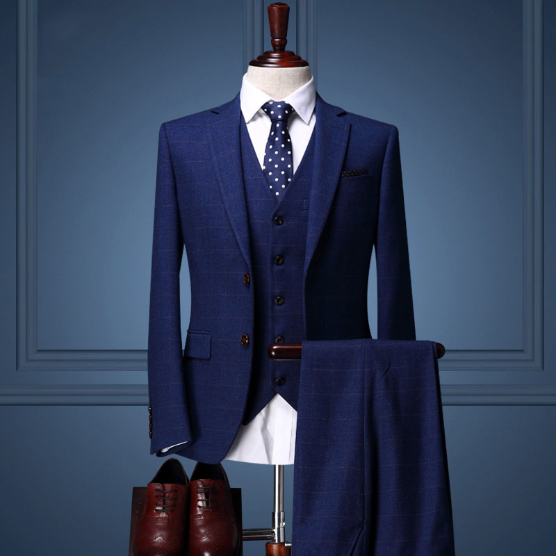 Compare Prices on Suit Slim Fit Royal Blue Suits- Online Shopping ...