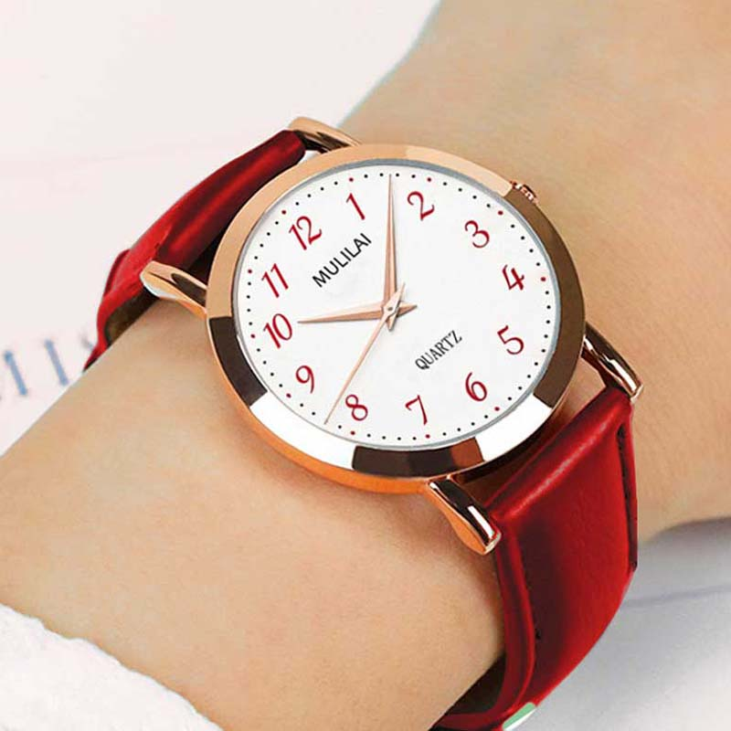 Rose gold dw stil Frauen uhr Mode Damen Marke Frauen Quarz Armbanduhr uhr Weibliche Nadel leder Armbanduhr Relogio feminino