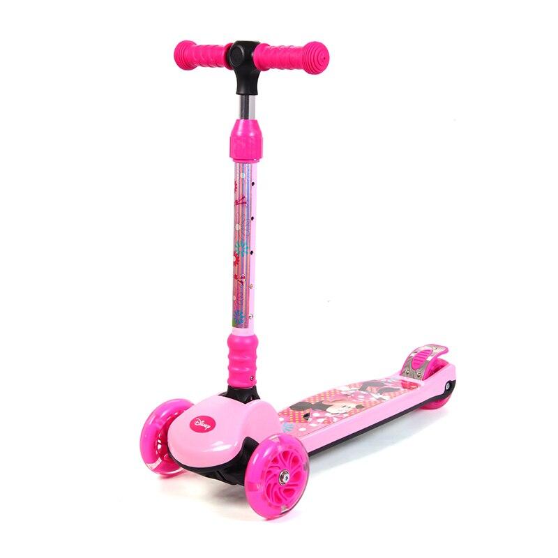 Pliable enfants Scooter réglable main Bar hauteur pliant 3 roues enfant Scooter apprentissage équilibre pour 3-10 ans enfants enfant