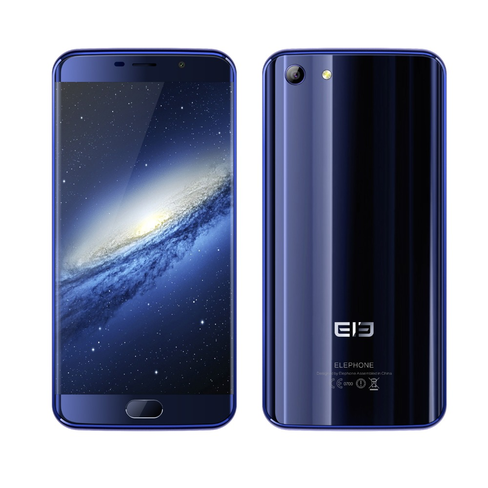 Original Elephone S7 5 5inch Touch ID MT6797 Helio X20 Deca Core 13 0 MP 4GB