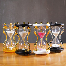 Retro hourglass timer decoration, 15/30 minutes Creative home accessories wedding gift