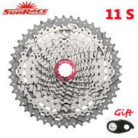 SunRace CSMS8 CSMX8 11 Speed Cassette Wide Ratio Mountain Bike Freewheel Bicycle Cards type Flywheel 11 40T 11 42T 11 46T