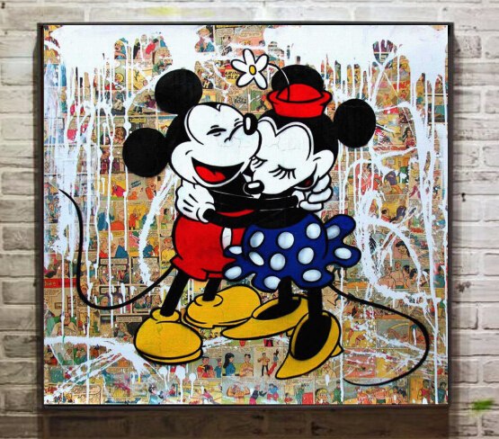 mickey mouse graffiti art wwwpixsharkcom images