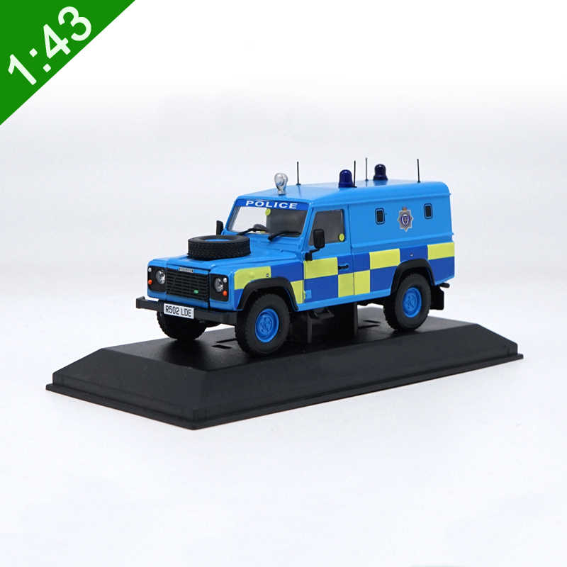 1:43 Defender Police Version SUV Alloy Car Model Metal Diecast Collection Luxury For Kids Toy Gifts Original Box Free Shipping