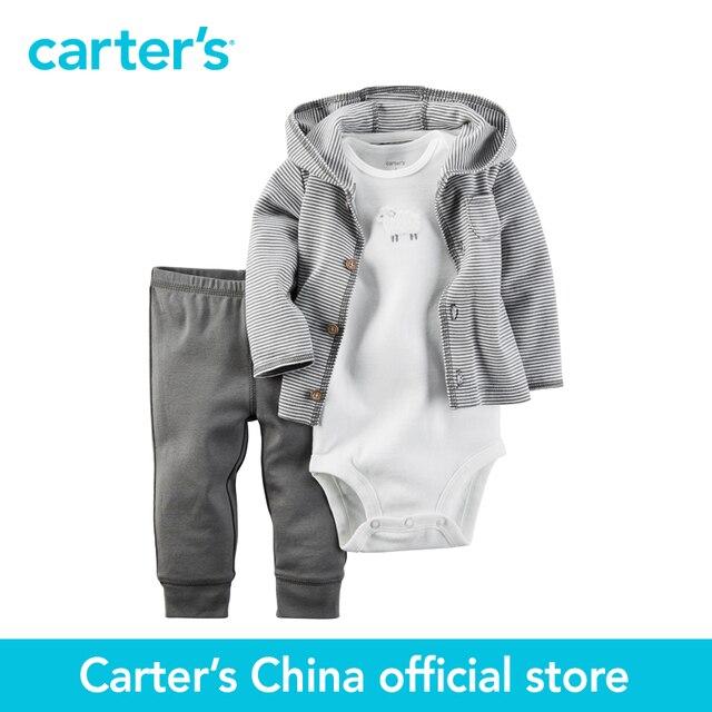 Картера 3 шт. детские дети дети Babysoft Кардиган Набор 126G290, продавец картера Китай официальный магазин