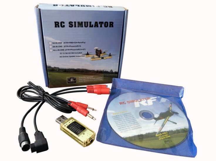 22 En 1 RC simulador de vuelo Cable para G7 Phoenix 5,0 Aerofly XTR VRC FPV Racing