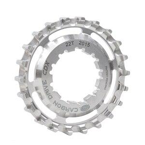 Image 3 - Gates Bicycle Sprockets Carbon Fiber Belts CDX Bike Drive Belt Cog Center Track Rear Sprocket For SHIMANO ENVIOLO STURMEY ARCHER