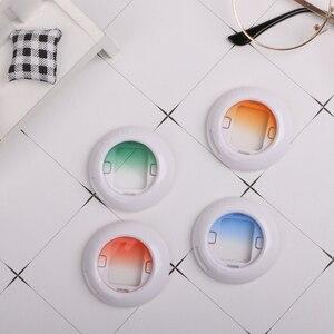 Image 2 - Комплект фильтров для объектива Fujifilm Instax Mini 8 8 + 9 7s kt, 4 шт., цветная мгновенная пленка, аксессуары для камеры Polaroid