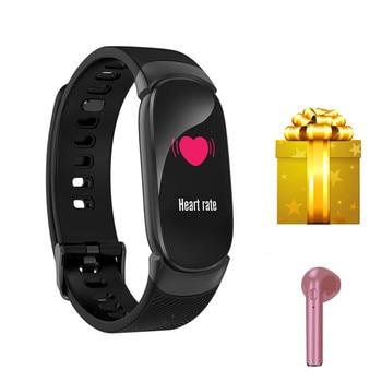 Smart female watch +earphone gift for xiaomi mi band 4 smart watch supportremote camera clock sleep monitor ip67 waterproof xiaomi mi band 4 aliexpress