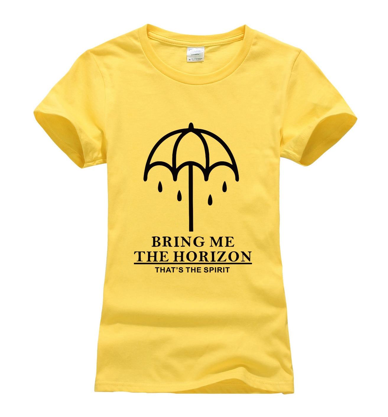 BRING ME THE HORIZON печати женщины футболка 2017 летняя мода harajuku бренд корейский футболка femme смешно панк битник черный топы