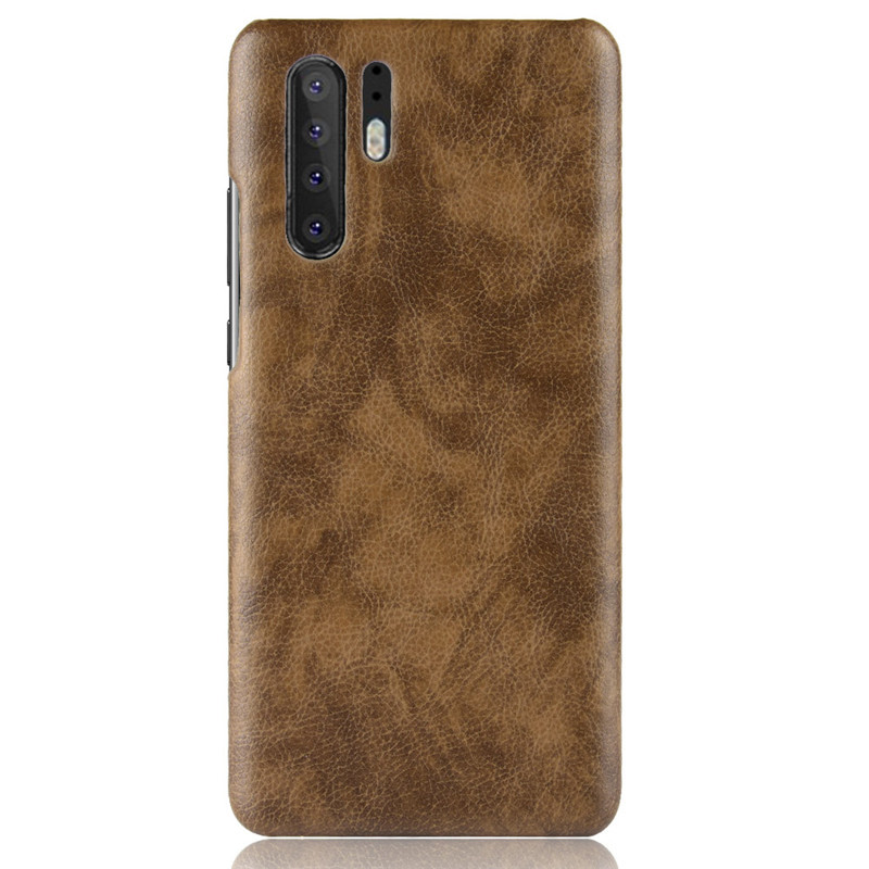 P30 Leather Case for Huawei P30 Pro P20 Honor 20 Case Hard Matte Shockproof Back Cover for Huawei P30 Bumper Fundas image