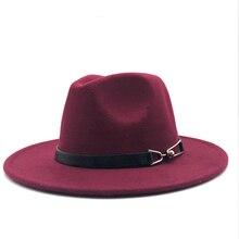 Новые женские и мужские шерстяные винтажные Гангстерские фетровые шляпы из Трилби с широкими полями, элегантные женские зимние осенние джазовые кепки с поясом