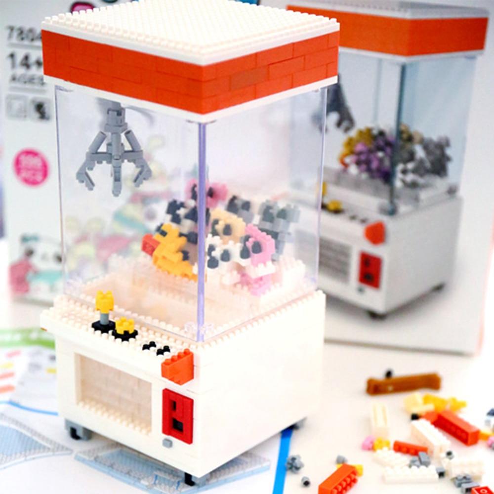 Rikuzo Ufo Catcher Modelo Funny Building Set 596pcs Doll Block OZXikuP
