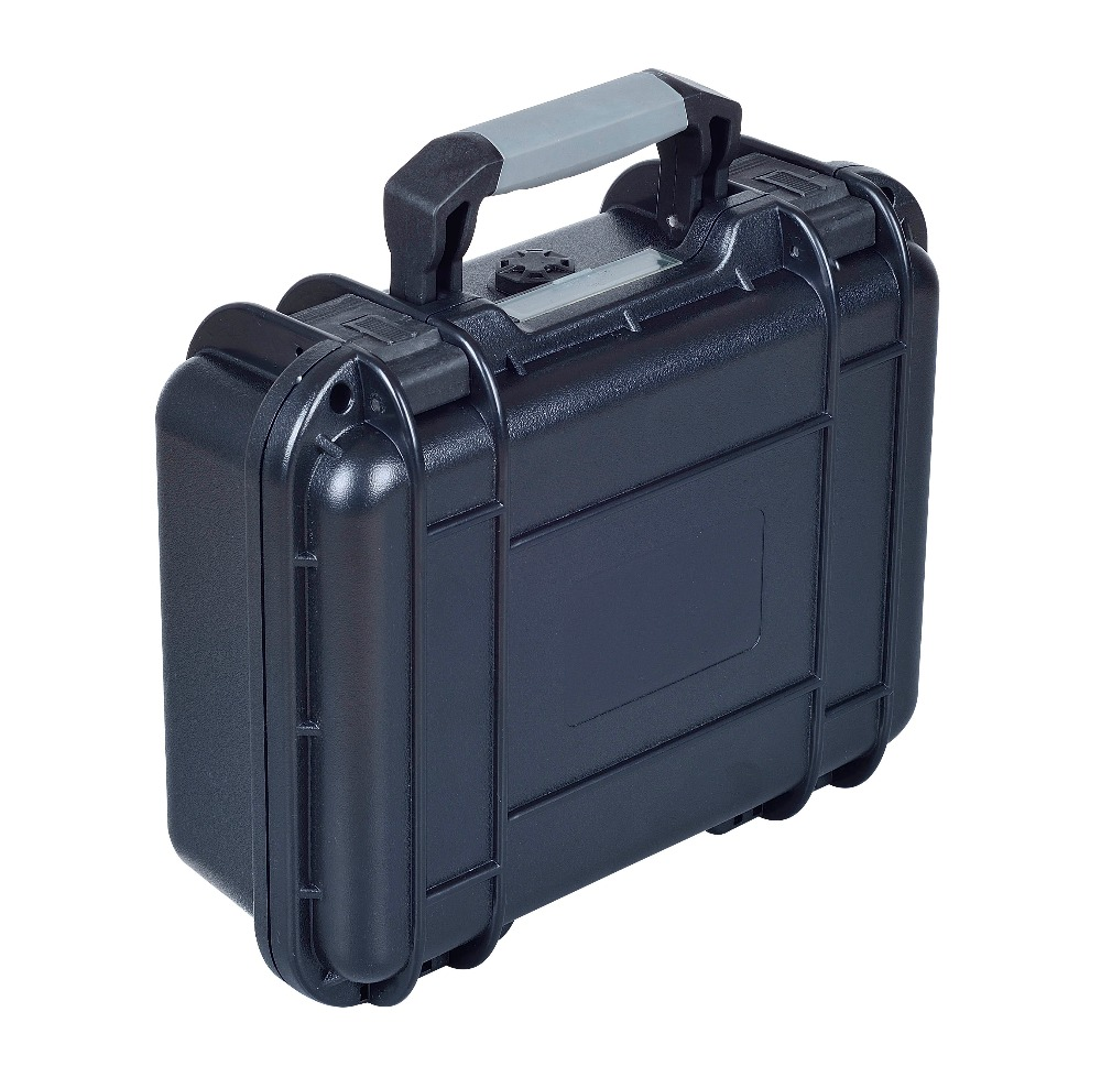 SQ9082 waterproof shockproof dustproof hard plastic tool case with precut foam