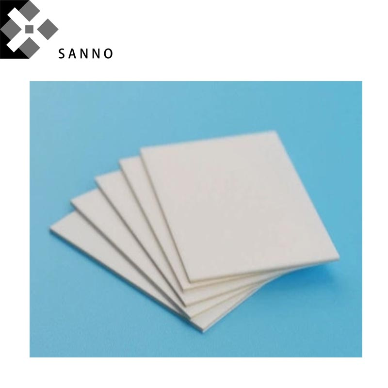 2PCS Insulation Industrial Ceramic Plate 100mm - 200mm Alumina Tin Sheet Non-standard Ceramic Aluminum Oxide Plates
