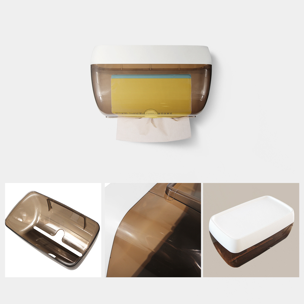 Aliexpress.com : Buy RECAPS Toilet Paper Roll Holder ... on Wall Mounted Tissue Box Holder id=79374