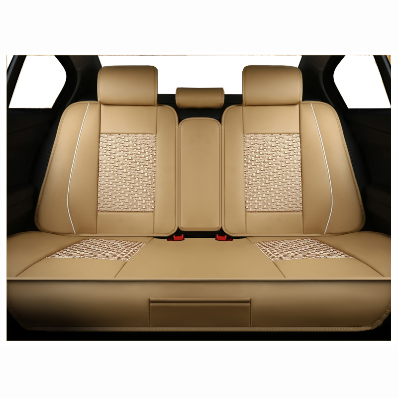Rear Universal Leather Car Seat Covers For Bmw E30 E34 E36