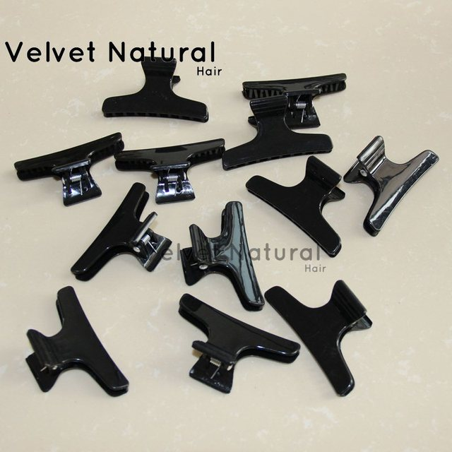 Wig Clips 6pcset Snap Clips For Human Hair Extensions Professional