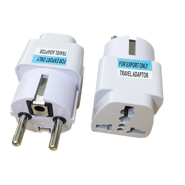 Multifunction EU conversion socket To The universal French Russian Bali The maldives Thailand transform plugs adapter 250V 10A