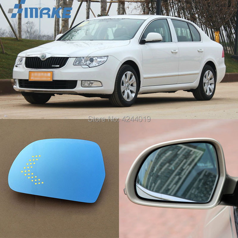 Skoda Fabia Combi 07-On Replacement Passenger Side NS Left Wing Mirror Glass