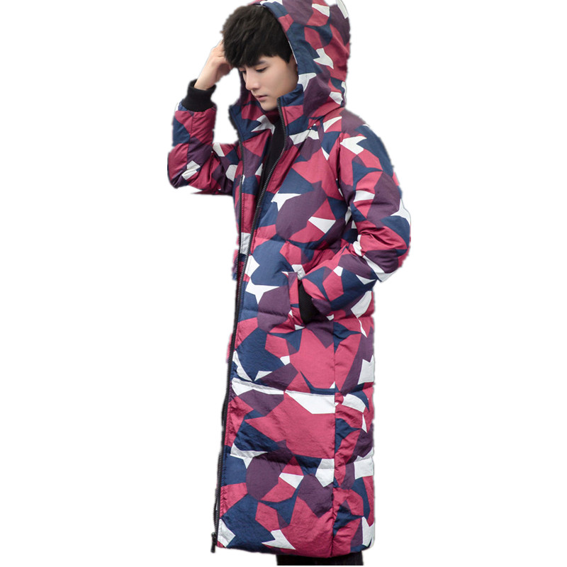 2017 new arrival winter high quality mens fashion leisure clubman color down jacket coat feather dress large size M-5XL