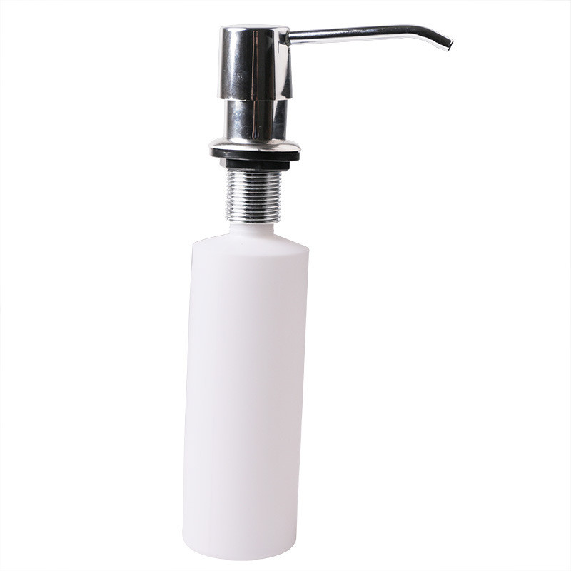 300ML Kitchen Bathroom Sink Liquid Soap Lotion Holder Bottle Dispenser Home Tool image