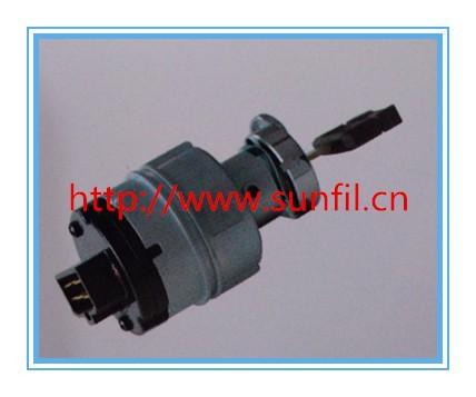 High quality Ignition Switch to start the lock for Excavator SK200-8,5PCS/LOT,Free shipping
