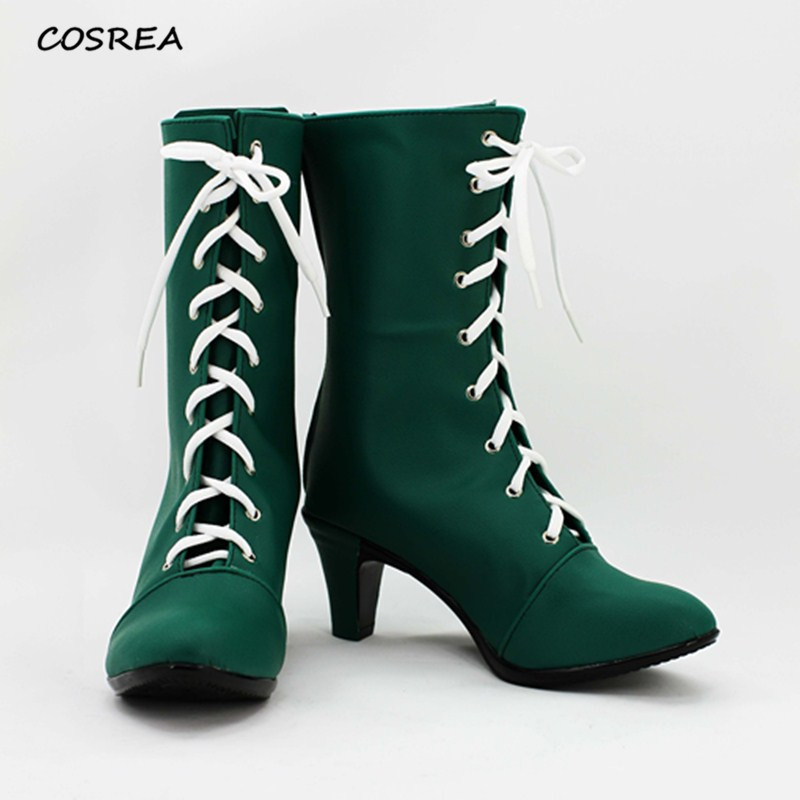 Anime Sailor Moon Sailor Jupiter Makoto Kino shoes Cosplay Costumes For Adult Men Women Halloween Party Props Boots Custom Made